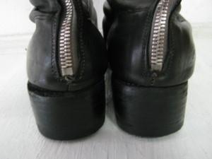 グイディブーツリペア GUIDI 踵交換修理 東京都内 目黒区 武蔵小山靴修理ロンゴロンゴ 革製品修理