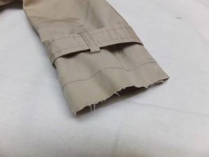 トレンチコート袖擦りきれ補修東京
