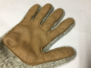 レザーグローブ 手袋 リペア 修理 ロンゴロンゴ