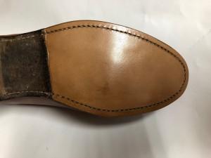 レザーシューズ ソールリペア 目黒 武蔵小山 靴修理 ロンゴロンゴ
