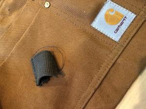 カーハートバッグリペア 東京都内 目黒区 武蔵小山 靴修理 革製品修理 ロンゴロンゴ