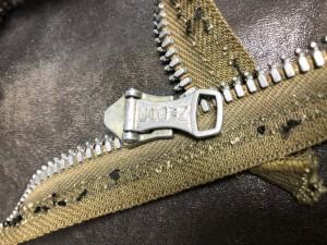 ビンテージレザージャケット ジッパー交換 東京 目黒 修理屋ロンゴロンゴ