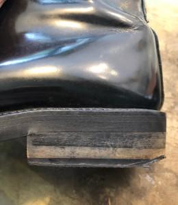 武蔵小山 靴修理 革製品修理 ロンゴロンゴ 目黒区ブーツリペア