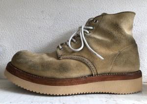 レッドウイングソール交換 東京都 目黒区 武蔵小山靴修理 革製品修理 ロンゴロンゴ
