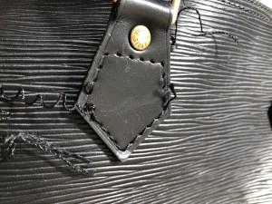 ルイヴィトンバッグリペア 東京都内 目黒区 武蔵小山靴修理 革製品修理 ロンゴロンゴ