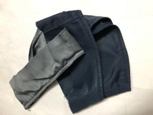 L‐2A 袖丈詰め 東京都内 目黒区 武蔵小山靴修理ロンゴロンゴ ミリタリージャケットリペア