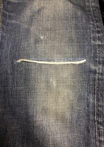 デニムリペア目黒区 武蔵小山靴修理 バッグ修理革製品修理