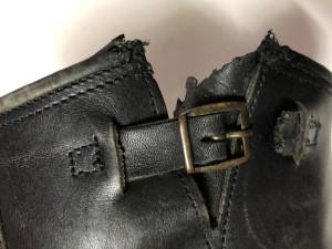 エンジニアブーツソール交換 ベルト修理 東京都 目黒区 武蔵小山靴修理 革製品修理 バッグ修理 ロンゴロンゴ