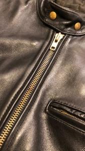 VANSON  バンソンジッパーリペア 東京都内 目黒区革ジャン修理 バッグ修理 靴修理ロンゴロンゴ