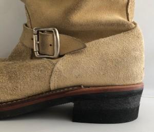 チペワエンジニアブーツリペア 踵交換 東京 目黒区 武蔵小山靴修理ロンゴロンゴ 革製品修理