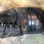 ビンテージブーツリペア東京都内 目黒区武蔵小山靴修理ロンゴロンゴ