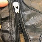 レザーバッグファスナーリペア 東京都内 目黒区武蔵小山靴修理ロンゴロンゴ 革製品修理