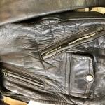 ビンテージライダースジャケットファスナーリペア東京都内 目黒区武蔵小山靴修理ロンゴロンゴ 革製品修理