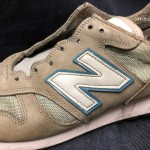 ニューバランス1300リペア東京 目黒武蔵小山靴修理ロンゴロンゴ 革製品修理