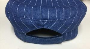 帽子 キャスケット 帽子 サイズ直し デニムリペア