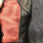 レザーグローブ破れリペア 革手袋修理
