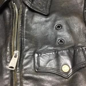 ポリスマンジャケット修理