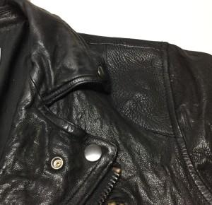 ライダースジャケット破れ修理東京